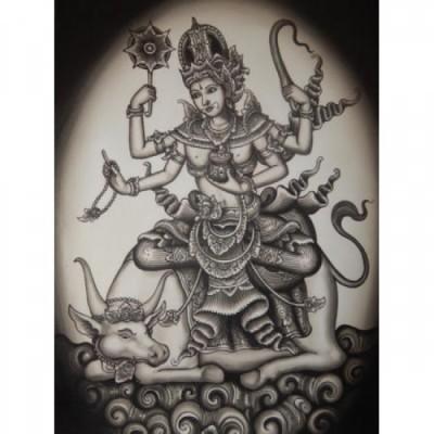 lukisan-tradisional-motif-dewa-23315