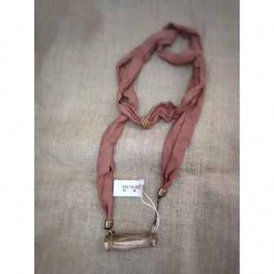 kalung-batik-kalung-handmade-kalung-unik-kalung-gamelan-kalung-kendang-gesyal-coklat-bata
