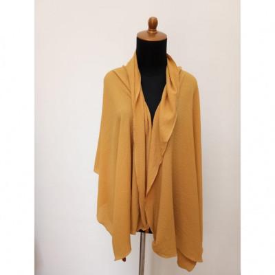 gesyal-syal-travelling-wanita-crepe-scarf-mustard