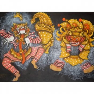 lukisan-tradisional-motif-barong-bali-25379