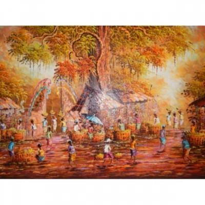 lukisan-tradisional-motif-pasar-28419