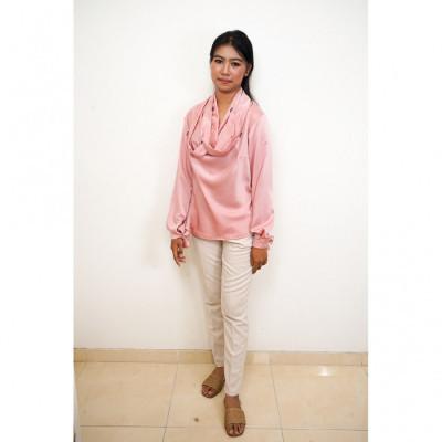 gesyal-kalung-variasi-manik-blouse-atasan-wanita-pink
