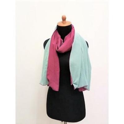 gesyal-syal-travelling-wanita-crepe-bolak-balik-scarf-fuschia-tosca