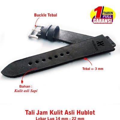 kulit-asli-hublot-size-14-mm-22-mm-hitam-garansi-1-tahun
