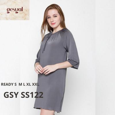 gesyal-baju-rumah-seksi-baju-tidur-daster-polos-spandex-gsy-ss122-xxl