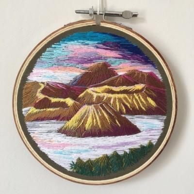 pajangan-hoop-sulam-gunung-bromo