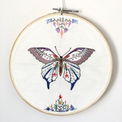 pajangan-hoop-sulam-kupu-kupu