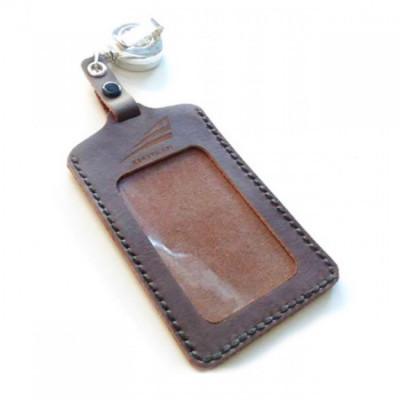 name-tag-kulit-asli-logo-pt-kai-model-gantungan-yoyo-warna-coklat-garansi-1-tahun-tempat-id-card.-gantungan-id-card