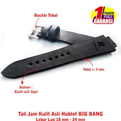 tali-jam-kulit-asli-hublot-big-bang-size-18-mm-24-mm-hitam