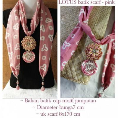 kalung-batik-scarf-lotus-dusty-pink