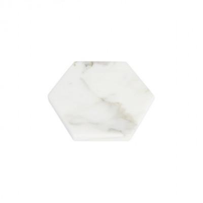 hexagon-white-moonstone-marble-d12