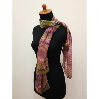 gesyal-travelling-motif-zigzag-scarf-wanita-multicolor