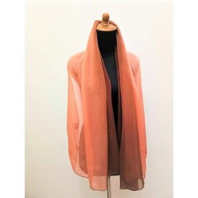 gesyal-sifon-gradasi-two-color-beads-scarf-syal-travelling-wanita-brunette-apricot