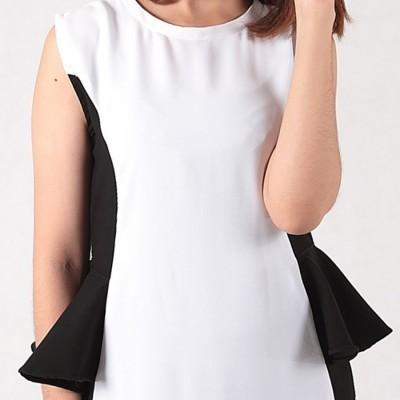 ruflle-dress-white
