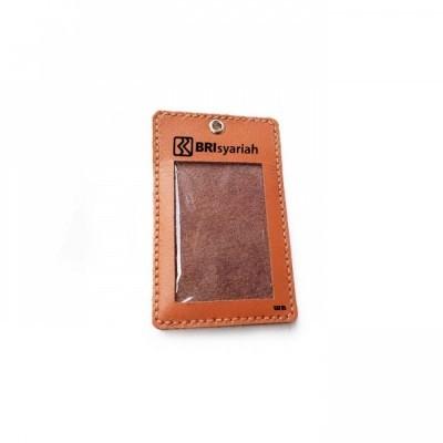 name-tag-id-kulit-asli-logo-bank-bri-syariah-warna-tan-tali-id-card.-gantungan-id-card-