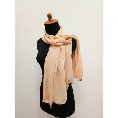 gesyal-scarf-wanita-nude-creme