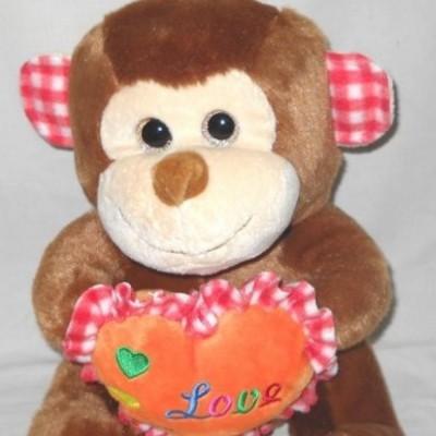 boneka-monkey-animal-love-zee-30-cm