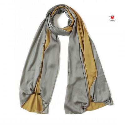 -gesyal-syal-scarf-satin-bolak-balok-gold-abu-bahan-minim-setrika-tidak-mudah-kusut