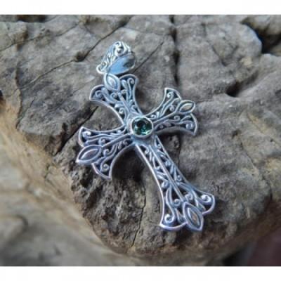 liontin-perak-salib-ukir-tembus-batu-green-quarts-59211