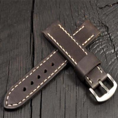 tali-jam-tangan-pria-kulit-asli-handmade-ukuran-18mm.-20mm.-21mm.-22mm.-24mm.-26mm-warna-coklat-tua-garansi-1-tahun
