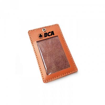 name-tag-kulit-logo-bank-bca-warna-tan-garansi-1-tahun-tali-id-card.-gantungan-id-card-