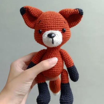 fox-amigurumi