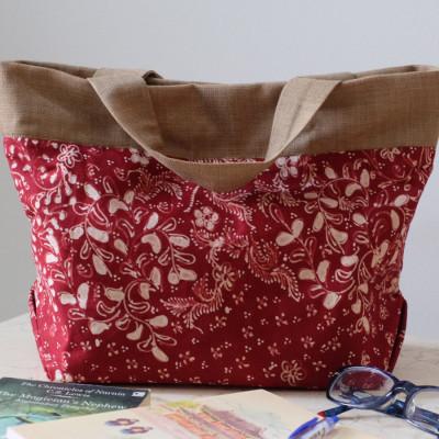 batik-lasem-handbag-maroon