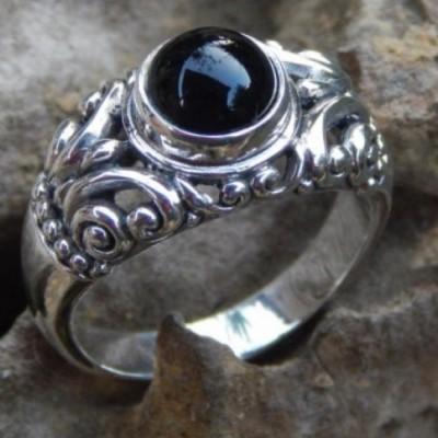 cincin-perak-ukir-bali-batu-black-onyx-69362