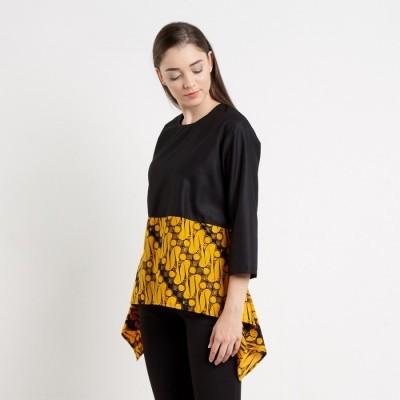 batik-dirga-amunet-atasan-wanita-blouse-batik-yellow