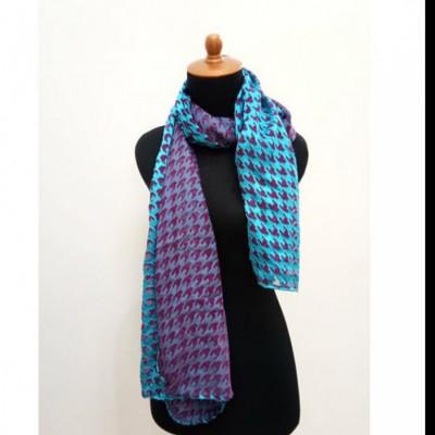 gesyal-scarf-wanita-blue-sapphire-lavender