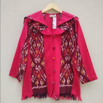 blouse-tenun-batik-bunga-bakung-bb-902