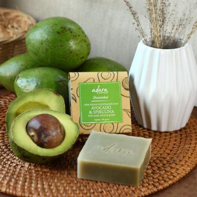 adara-organic-handmade-avocado-spirulina-soap-unscented