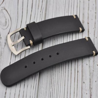 tali-jam-tangan-kulit-asli-18mm.-20mm.-21mm.-22mm.-24-mm.-26-mm-warna-hitamtua-garansi-1-tahun