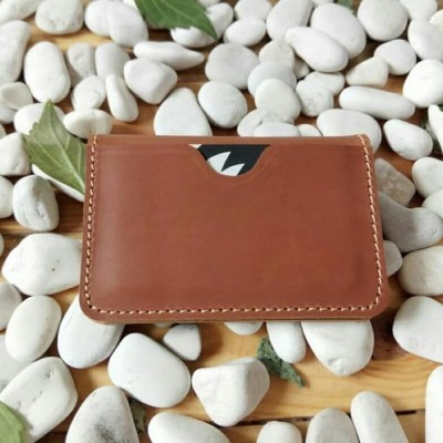 dompet-kartu-kulit-asli-model-lipat-dua-warna-tan-card-holder.-dompet-kulit-asli.-