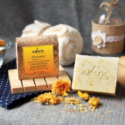 adara-organic-calendula-with-honey-soap-unscented