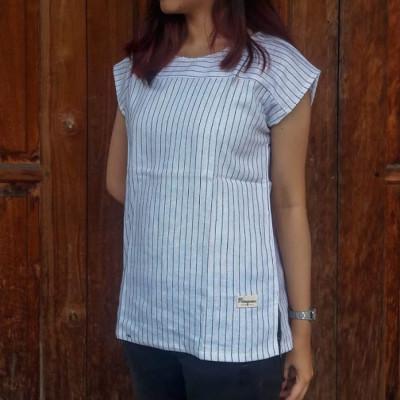 stripe-blouse