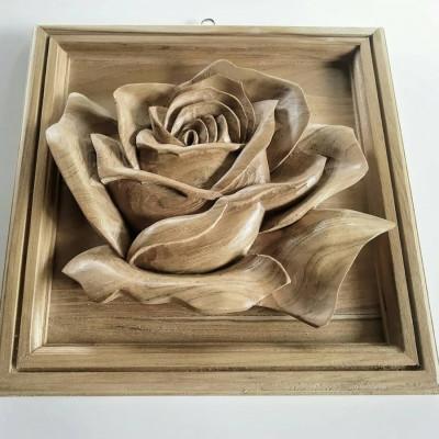 dekorasi-dinding-single-rose