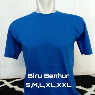 kaos-polos-cotton-combed-30s-biru-benhur
