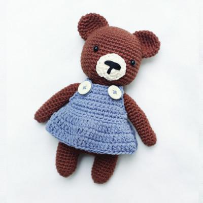 boneka-rajut-bear-amigurumi