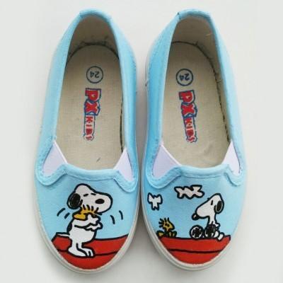 sepatu-lukis-dewasa-snoopy-woodstock