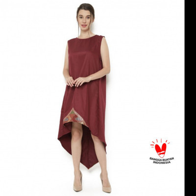 gesyal-long-dress-merak-katun-merah-maron