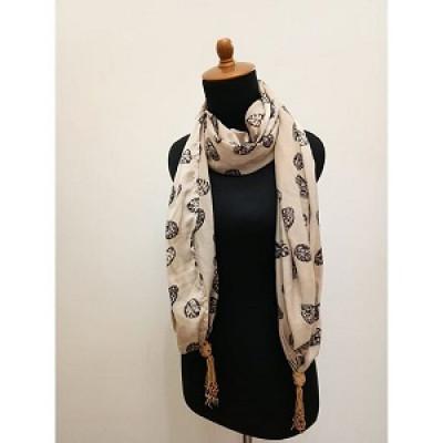 gesyal-silky-print-leaf-creme-scarf-syal-box