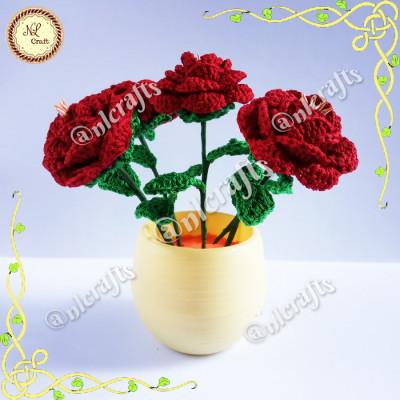 rangkaian-bunga-mawar-rajut-dekorasi-rumah