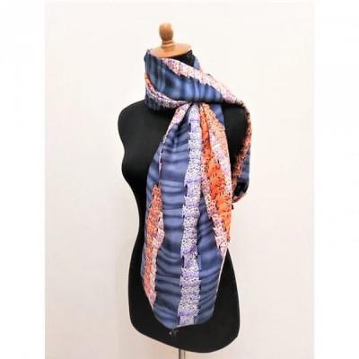 gesyal-syal-travelling-wanita-silky-print-bohemian-biru-box-scarf