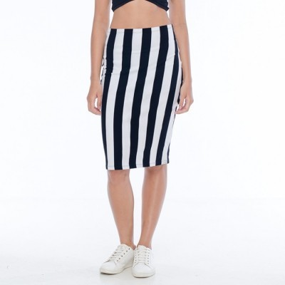 aura-black-and-white-pencil-skirt