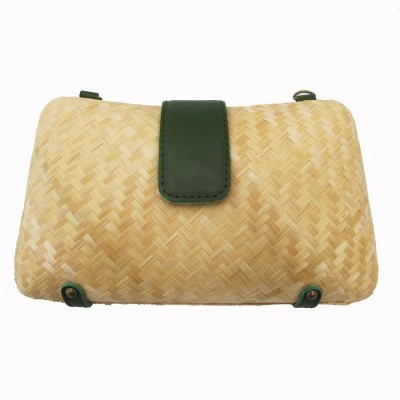 bamboo-clutch-green