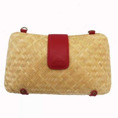 bamboo-clutch-red