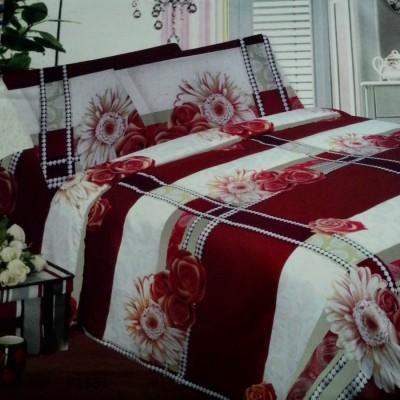bedcover-set-rosalia-flower-01-cokelat-ke-merahan-uk.200-cm