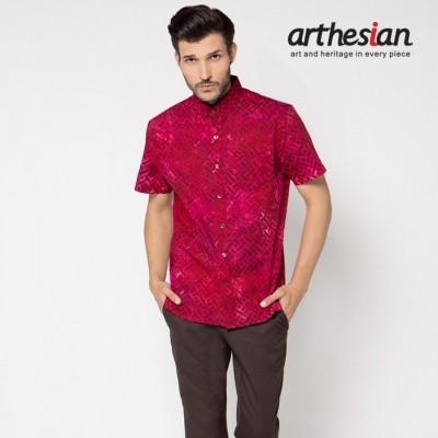 arthesian-kemeja-batik-pria-crude-basket-wave-batik-cap
