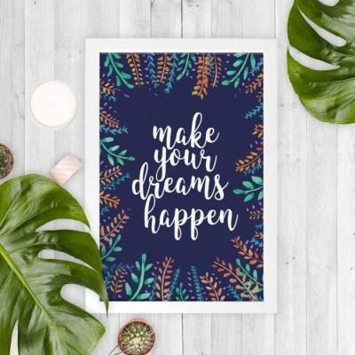 make-your-dreams-happen-20x30cm-wall-decor-hiasan-dinding